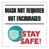 MaskEncouranged Decal 18x18 01