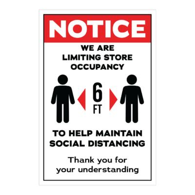 Notice Decal 12x18 01