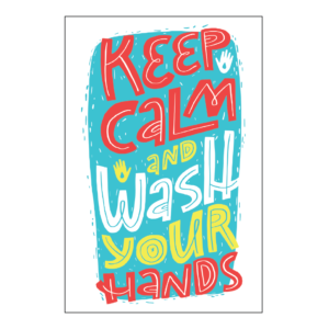 Take KeepCalmStay KeepHealthy Poster 18x12 02