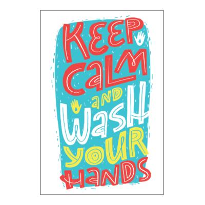 Take KeepCalmStay KeepHealthy Poster 18x12 02