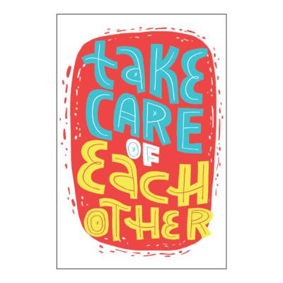 Take KeepCalmStay KeepHealthy Poster 18x12 04