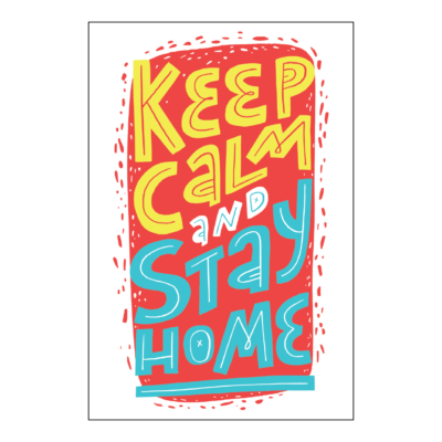 Take KeepCalmStay KeepHealthy Poster 18x12 05