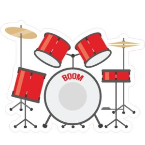18_Drumset-Red
