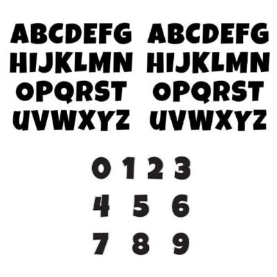 Letter-and-Number-Set