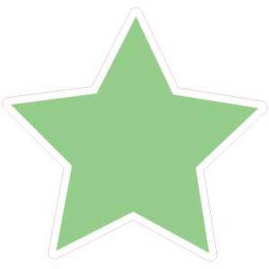 12 Inch Star Light Green