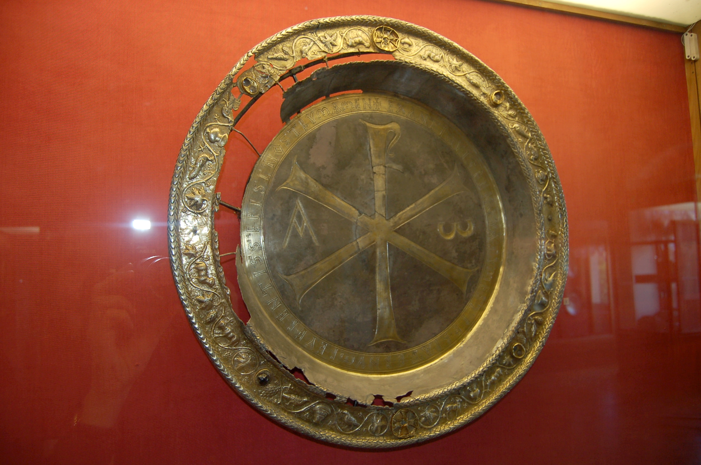 6th-century Byzantine Diskos in the Russian State Museum