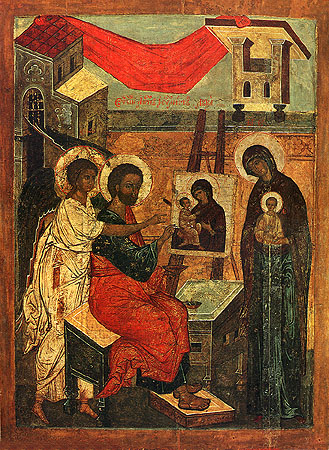 St.Luke Painting the Theotokos
