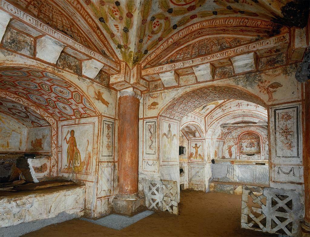 Via Latina Catacomb. Rome, early 4th cent.