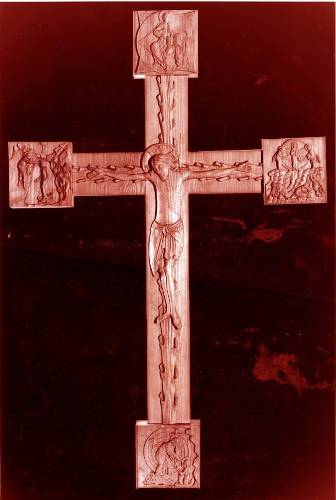 Romanesque cross by Aidan Hart