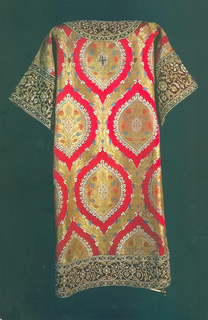 Sakkos of Patriarch Nikon, 1653, Ottoman Fabric