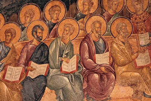 Apostles, Last Judgement Frescoe, Chora