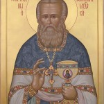 St John of Kronstadt.Contemporary Icon.