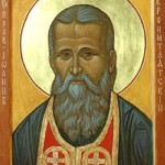 St. John of Kronstadt. Icon based on Photograph.