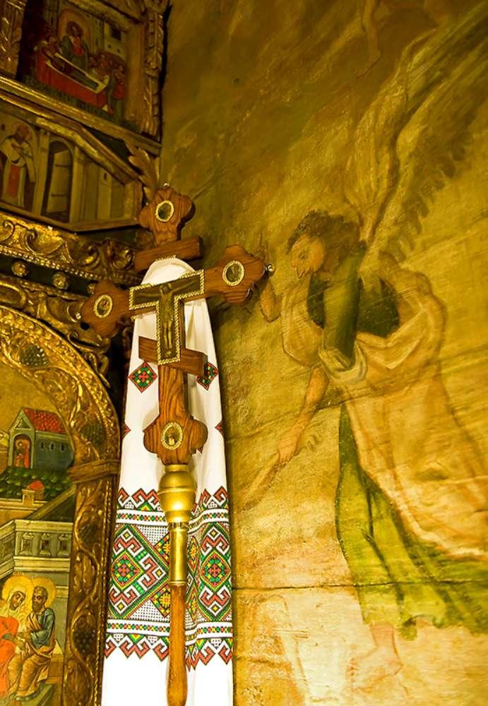 Processional Cross, Romania