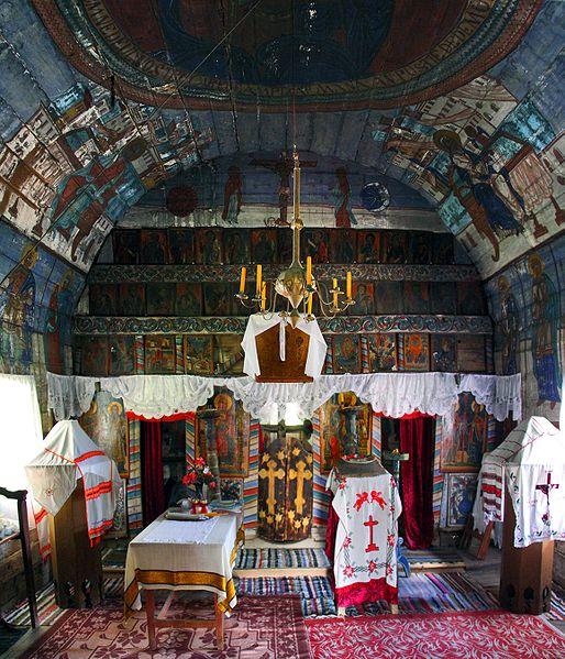 Village church, Curteana, Romania