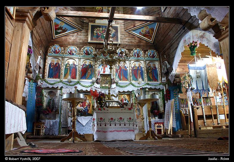 Village Church in Yasinia, Ukraine