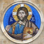 New Mosaic of Christ Pantocrator in Cardiff, Wales