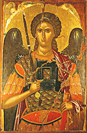 Holy St. Michael the Archangel by Andreas Ritzos, 15th century Crete