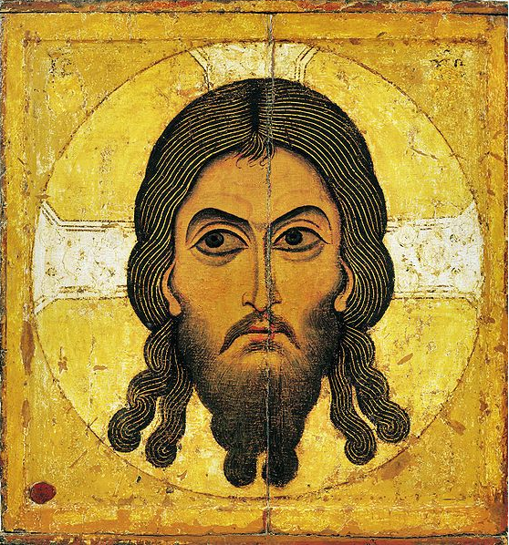 Acheiropoietos Icon (Not Made by Human Hands). Kiev, Russia, 12th century.