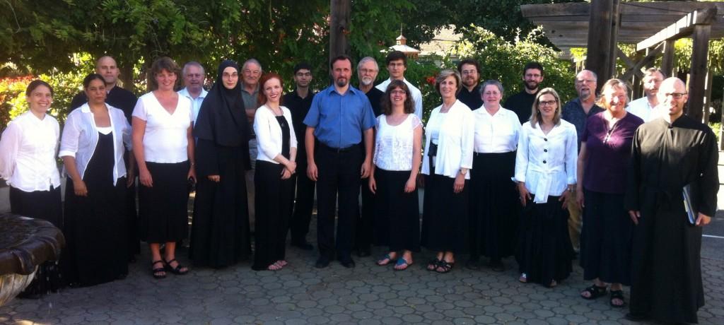 The Vladimir Gorbik Master Class at St. Seraphim Church, Santa Rosa, CA