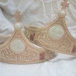Carved Wedding Crowns