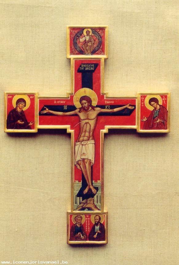 Altar cross by Van Ael.