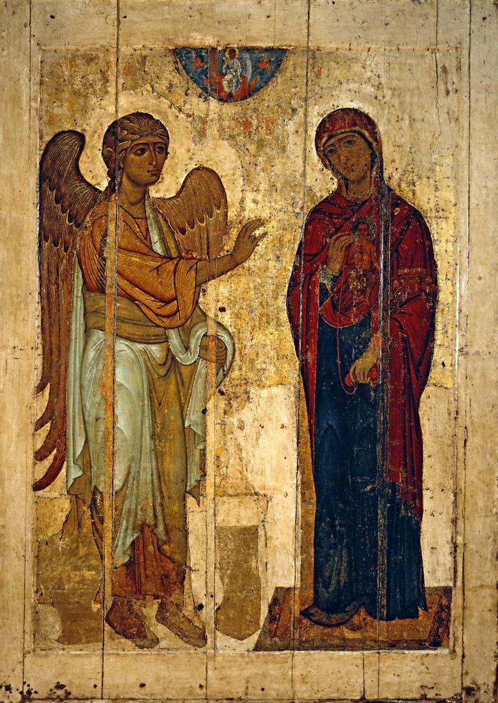 The 'Ustyug' Annunciation