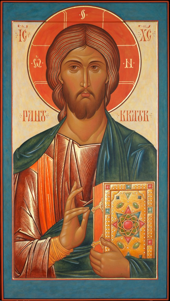 Icon of Christ for an iconostasis by fr. Silouan Justiniano