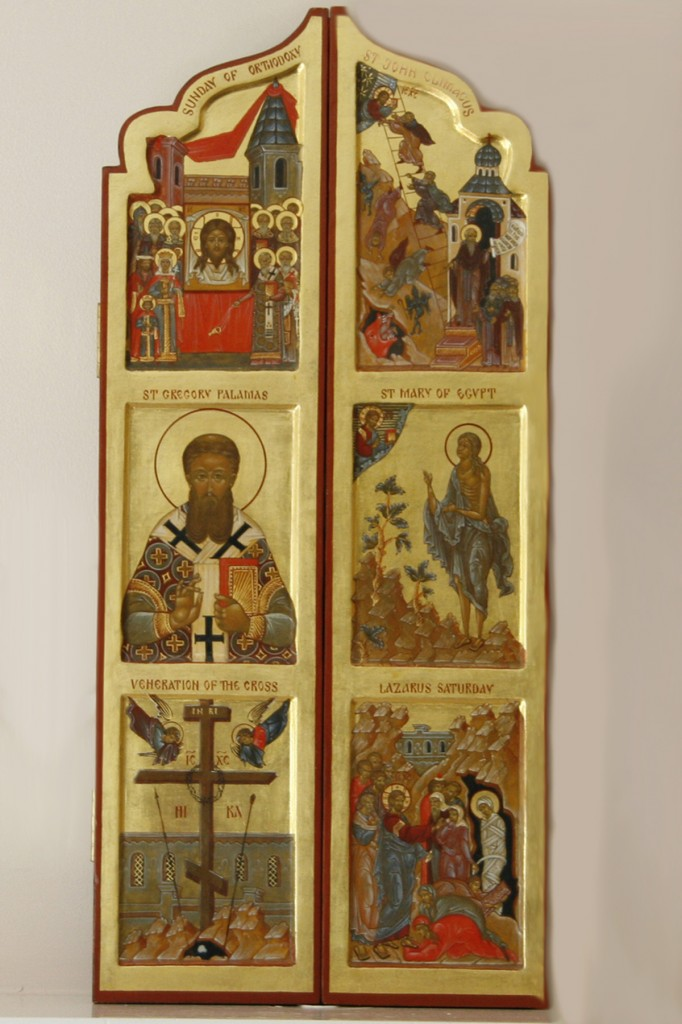 Triptych of Great Lent (closed) from Thomas and Elizabeth Smith collection