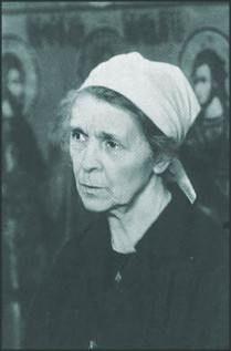Photo of Mother Juliana (Maria Nikolaevna Sokolova)