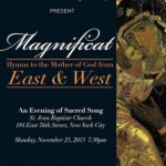 Magnificat: Hymns to the Mother of God from East and West