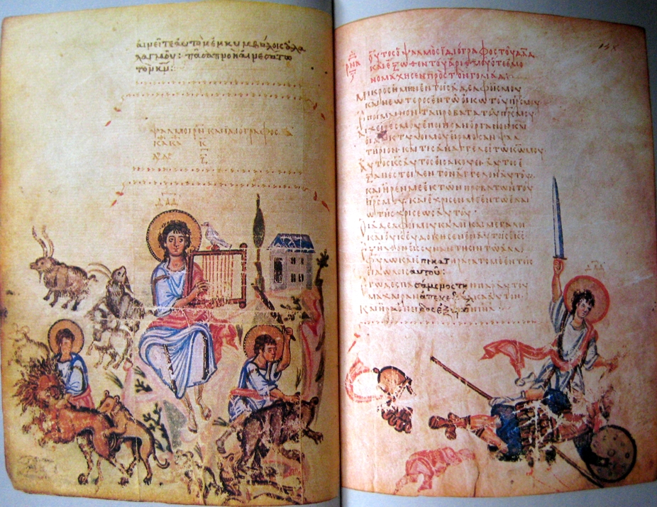 A Byzantine Illustrated Psalter from the 9th century (Chludov Psalter)