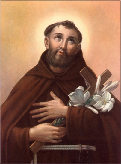 """Saint-Sulpice Style"" devotional card, St. Fidelis Weninger (+1622). This is the kind of aesthetic the ""art sacre"" movement resisted and tried to move away from. Notice the academic naturalism reminiscent of the William Bouguereau painting above, although much less masterful."