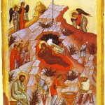 The Cave in The Nativity Icon