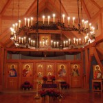 A Choros Chandelier for a Timber Frame Church