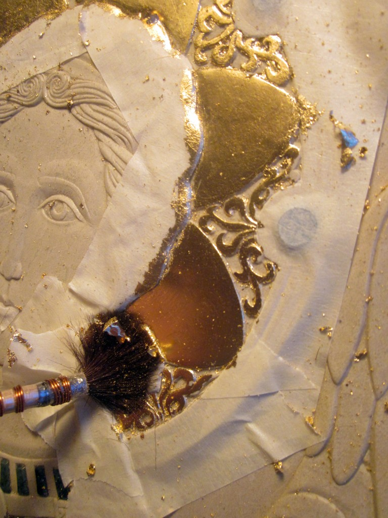Gilding the halo with its ornaments