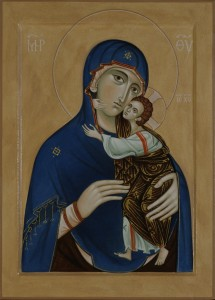 The Mother of God with Christ Child by Philip Davydov (2014)