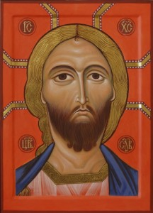 Icon of Christ with the Golden Hair.