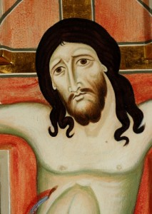 Image of Christ. Detail of a Crucifix.