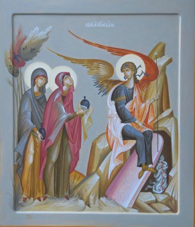 George Kordis, The Myrrh Bearing Women at the Sepulcher.