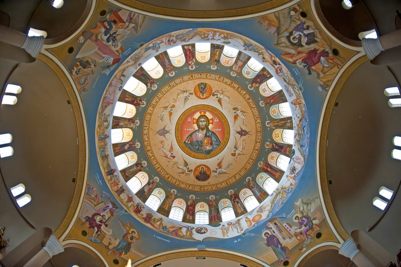 George Kordis, Dome of Holy Trinity Church, Columbia, SC.