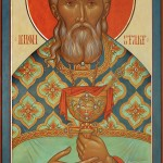 An Icon of St-John of Kronstadt by Fr.Silouan Justiniano