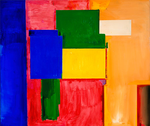 To Miz - Pax Vobiscum 1964. Oil on canvas 77 3/8 x 83 3/8 inches (196.5 x 212.4 cm) Collection Modern Art Museum of Forth Worth, Museum purchase