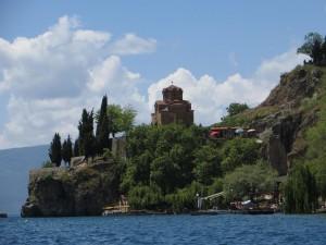 St. Clement Monastery on Lake Ohrid (Macedonia)