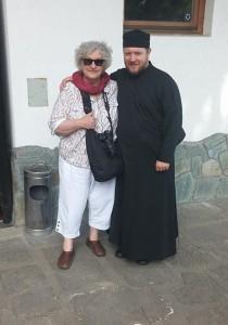 Fr. Ilya and Mary Lowell, Macedonia May 2014