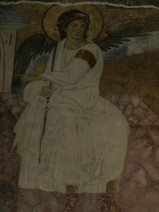 White Angel of of Milesheva Monastery