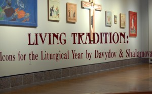Living Tradition: Icons for the Liturgical Year by Davydov and Shalamova