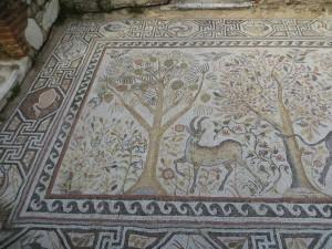 Mosaic floor of bishiopric church, Heraclea Lyncestis, Macedonia, 4th - 6th century