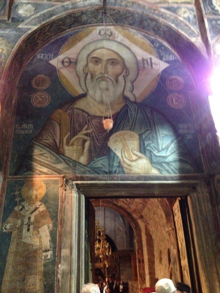 Ancient of Days, Pec Monastery, Kosovo