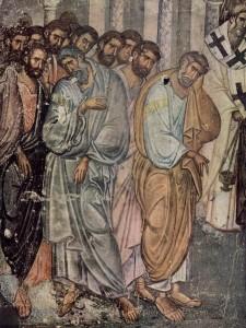 Fresco Sopocani Monastery